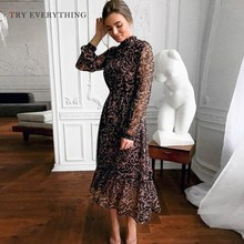 Eleant Long Summer Dress 2019 Woman A Line Floral Dresses Ruffles Ladies Sleeve Print Casual For Women