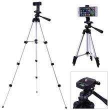 Профессиональный складной штатив для камеры держатель стенд 1/4 «винт 360 градусов Штатив-тренога с гидравлической головкой стабилизатор Алюминий с держатель телефона