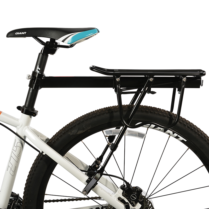 Rockbros Bike Bicycle Alloy Cargo Racks Rear Carrier Rack Seat Shelf Cycling Mountain Road Bicycle Carrier Luggage Shelf Bracket 2018 bike luggage cargo rear rack can be acted as power bank useful bicycle rear carrier racks new bicycle accessories