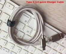 Алюминиевый тип разъема c быстрое зарядное устройство 3.0 мобильный телефон кабели для передачи данных usb для oneplus 5, oppo f3 плюс, leeco le pro3 elite