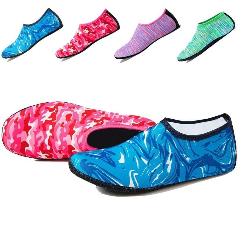 Mannen Aqua Duiken Sokken Schoenen Vrouwen Water Zwemmen Strand Schoenen Outdoor Zomer Zee Surfen Sandalen Unisex Snorkelen Waden Schoenen