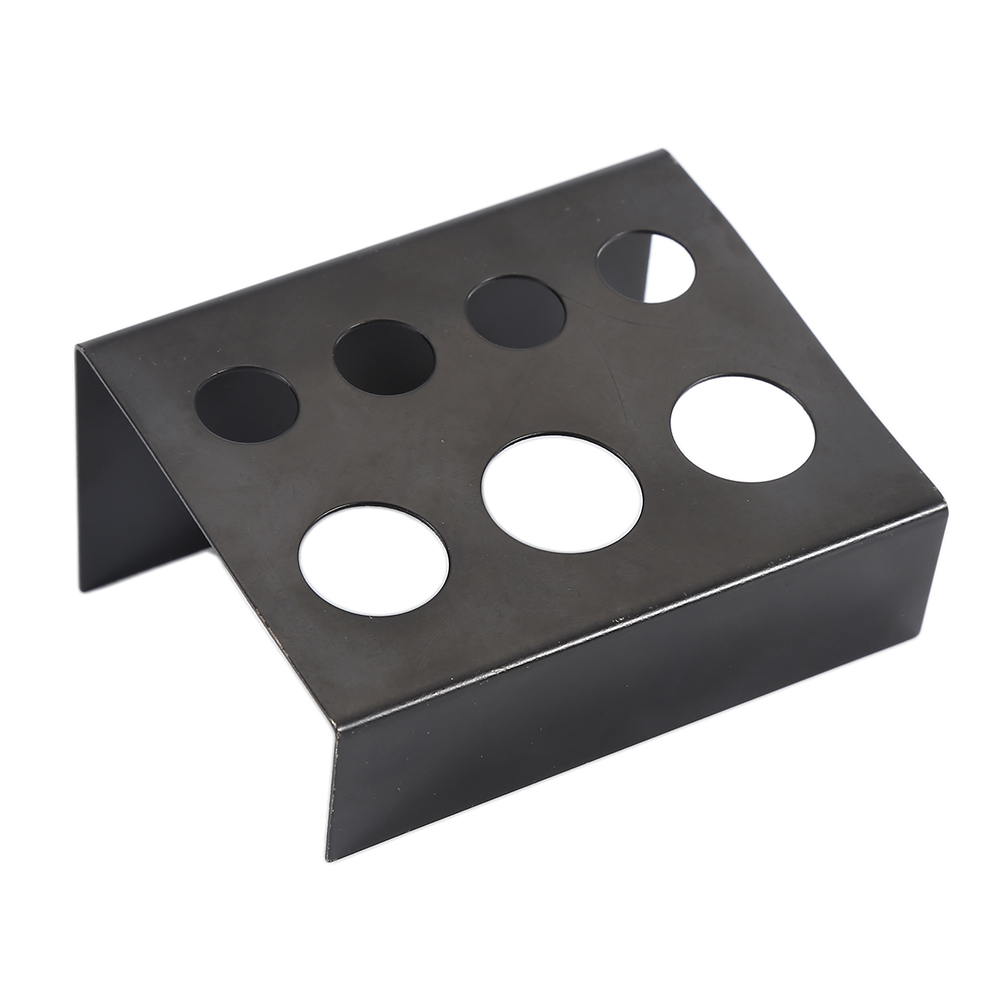7 Holes Black Metal Tattoo Ink Cup Holder Pigment Container Stand Shelf Tattoo Accessories Supplies Top Quality