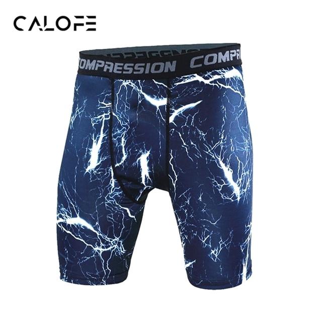 03322badf2d CALOFE 2018 Compression Shorts de Course Hommes Joggings À Séchage Rapide  Sport Shorts Sous-Vêtements