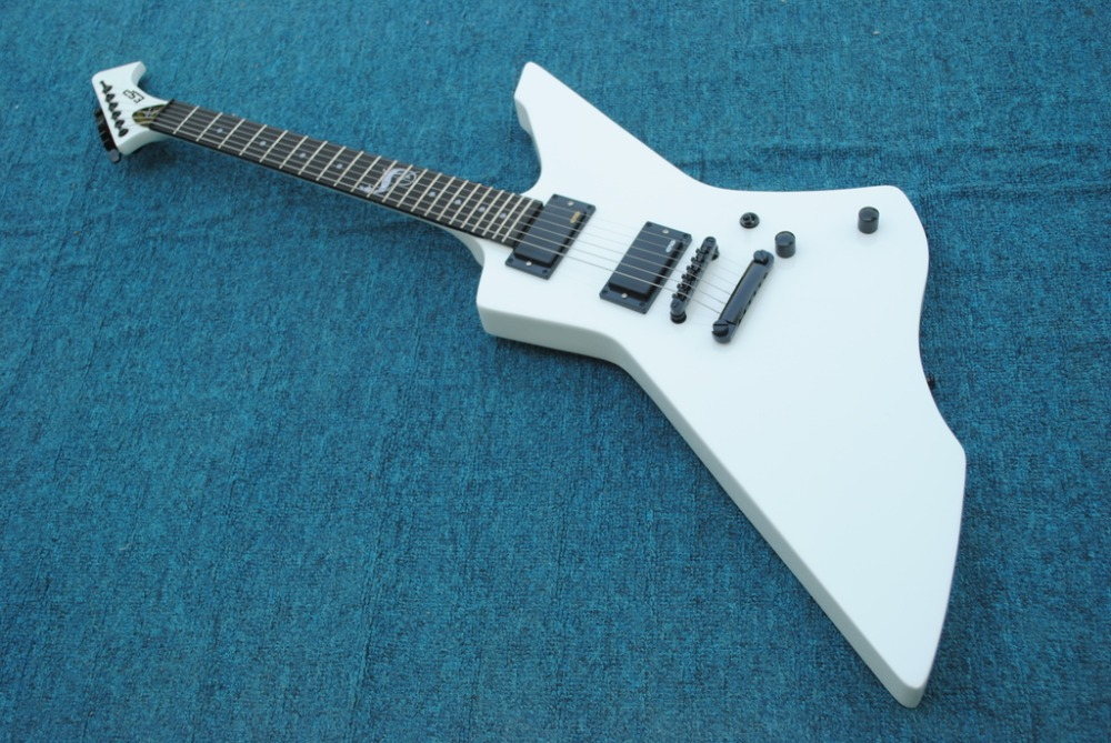 mahogany body white KSG snakebyte james hetfield electric guitar ROSEWOOD fretboard KSG Snake explo guitar Chinese
