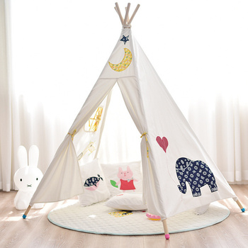 Children's Room Decoration Nordic Tent House for Kids Princess Oversized Game House Cotton Indoor Toy House for Photo Baby Props