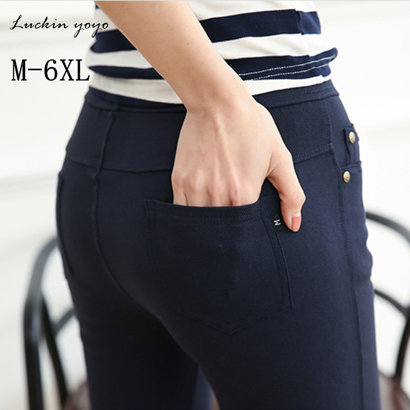 leggings   for women Skinny Slim Thin black   Leggings   Casual High Waist Elastic Pencil Pants large big Plus Size women   Leggings