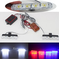 2x4/led Wireless Remote Control Ambulance Police light DRL Car Truck Emergency Light Flashing Firemen Light Strobe Warning light