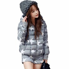 Woman Winter Warm Cloak Windcheater Hooded Zipper Down Jacket With Shorts Thick Maxi Coat Palto Parka Winbreaker Korean Overcoat
