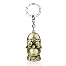 The Simpsons Keychain