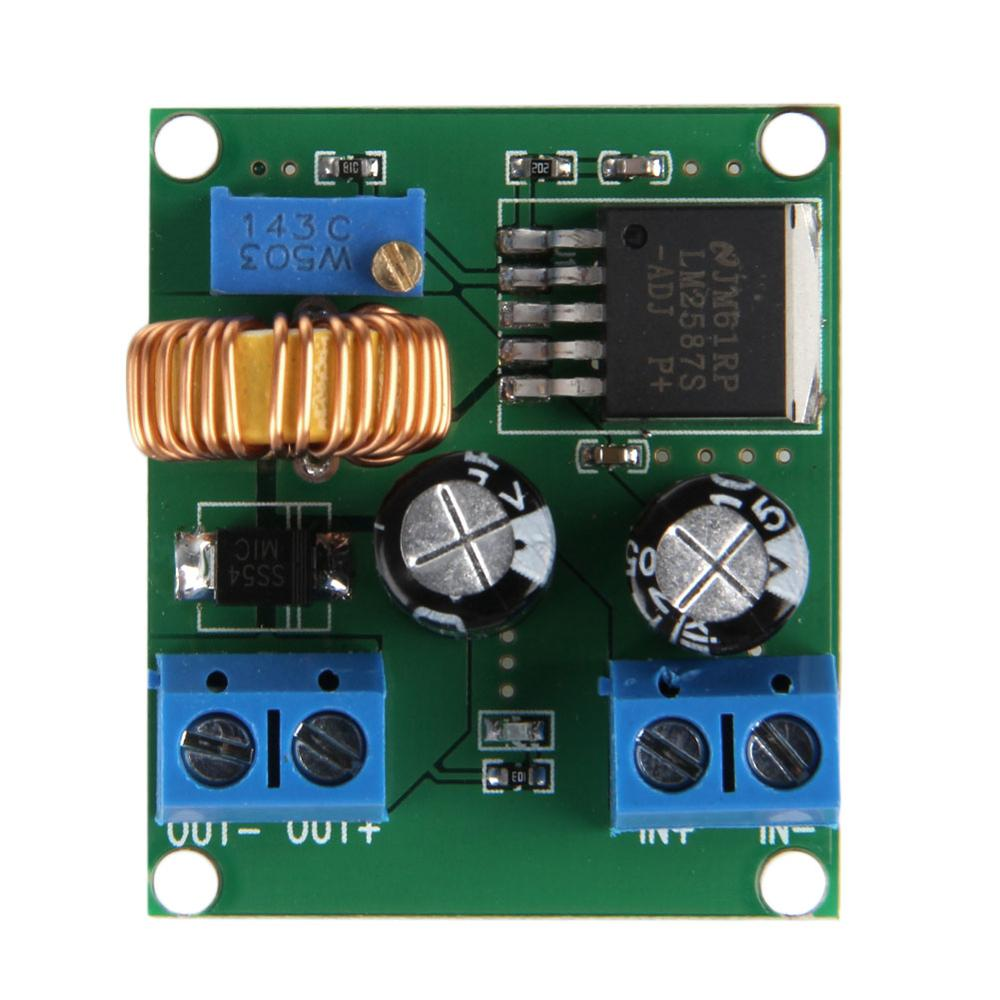 <font><b>DC</b></font>-<font><b>DC</b></font> Pulse Step Up Power Module Adjustable Voltage 3 5 12 <font><b>V</b></font> to 19 24 <font><b>30</b></font> 36 <font><b>V</b></font> Drop Ship image