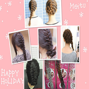 819 promotion Fashion Magic Sports braider hair pin to make hair style French Braiding tool As Seen On TV product