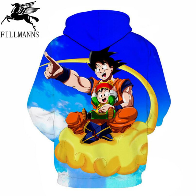 Dragon Ball 3D Hoodie Sweatshirts Men Women Hoodie Dragon Ball Z Anime Fashion Casual Tracksuits Boy Jackets Hooded Pullover   1