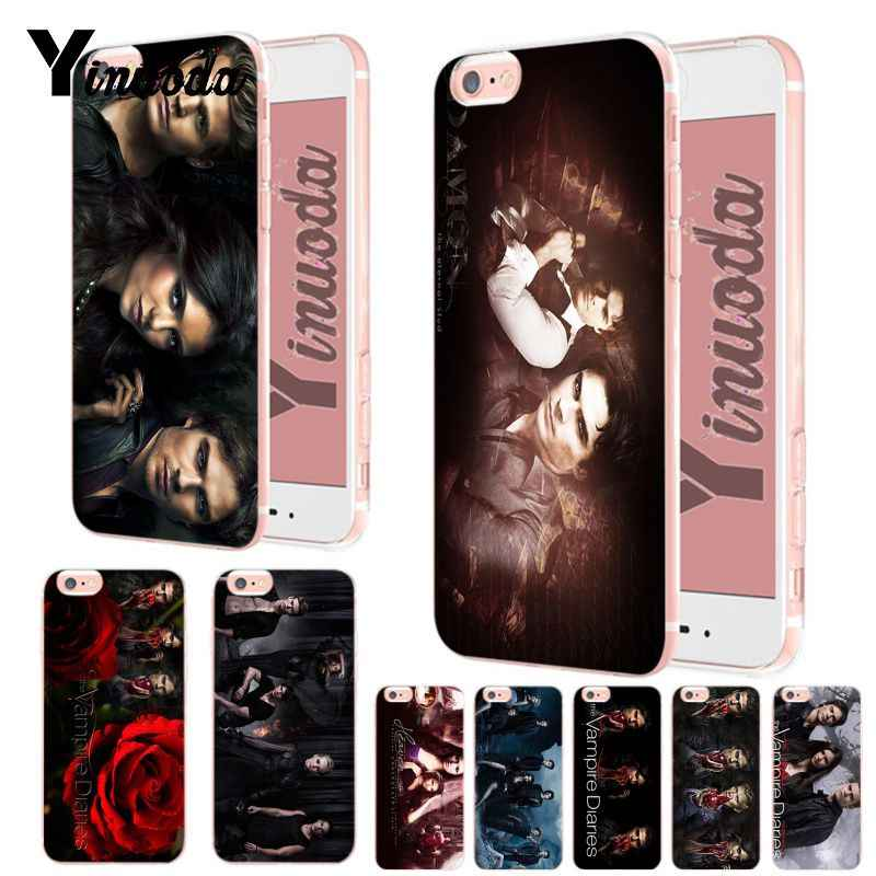Yinuoda Vampire Diaries Novelty Fundas Phone Case Cover UNTUK iPhone X XS XR Xsmax 6 6S 7 7 Plus 8 8 PLUS 5 5S