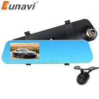 2016 4 3 Inch Full HD 1080P Car Rearview Mirror DVR Car Camera Parking Night Vision
