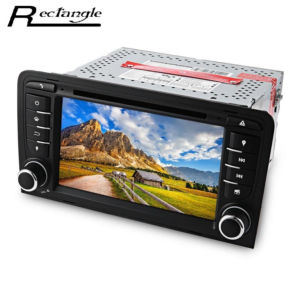 7 ''Pantalla Táctil Stereo Car Video Reproductor de DVD Doble Din Quad-Core Andr