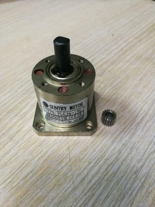 Planetengetriebe 36mm durchmesser Platz flansch für die montage NEMA17 schrittmotor verhältnis 51: 1 oder 71: 1 oder 100:1 können wählen