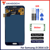 SUPER AMOLED For SAMSUNG Galaxy J3 2016 J320F J320H J320M J320FN LCD Digitizer Assembly Replacement With