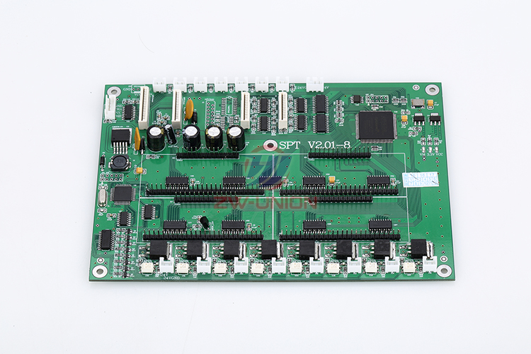Free shipping!! Infiniti FY-3208F 8 head carriage board Challenger FY-3208A FY-3208L Printhead Board spt v2.01-8 лодка intex challenger k1 68305