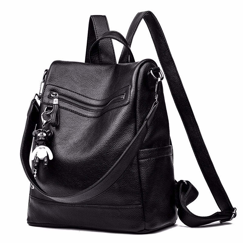 Women Backpack Hot Sale Simple Fashion Causal Bags High Quality Female Shoulder Bag Pu Leather Exquisite And Stylish Backpacks