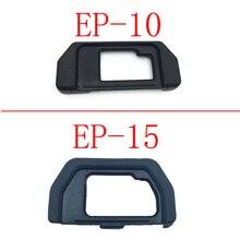 10 adet EP10 EP15 göz farı mercek vizör Olympus OM D OMD E M10 EM5 EM10 EM 5 DSLR kamera