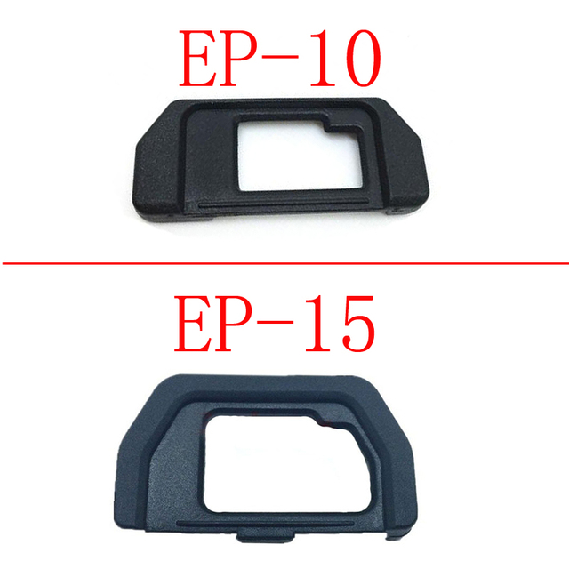10 pièces EP10 EP15 Oeilleton Doculaire Œilleton Pour Olympus OM D OMD E M10 EM5 EM10 EM 5 DSLR Caméra