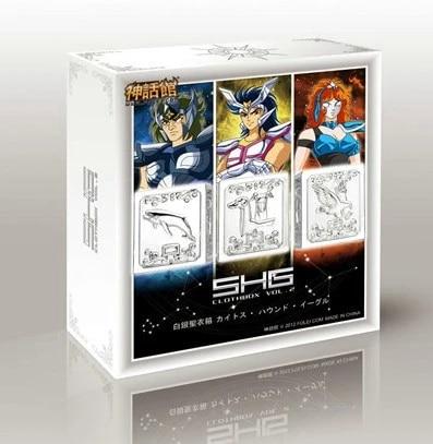 Saint Seiya EX Myth Cloth Silver Pandora Box FOLEI Aquila EAGLE MARIN Canes  Venatici Cetus