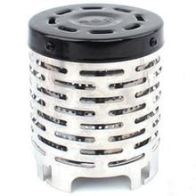 Портативный мини-обогреватель для кемпинга, крышка для газовой плиты, подогреватель из нержавеющей стали