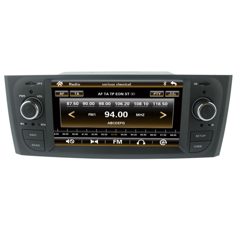 cheapest car radio gps for fiat grande punto linea old. Black Bedroom Furniture Sets. Home Design Ideas