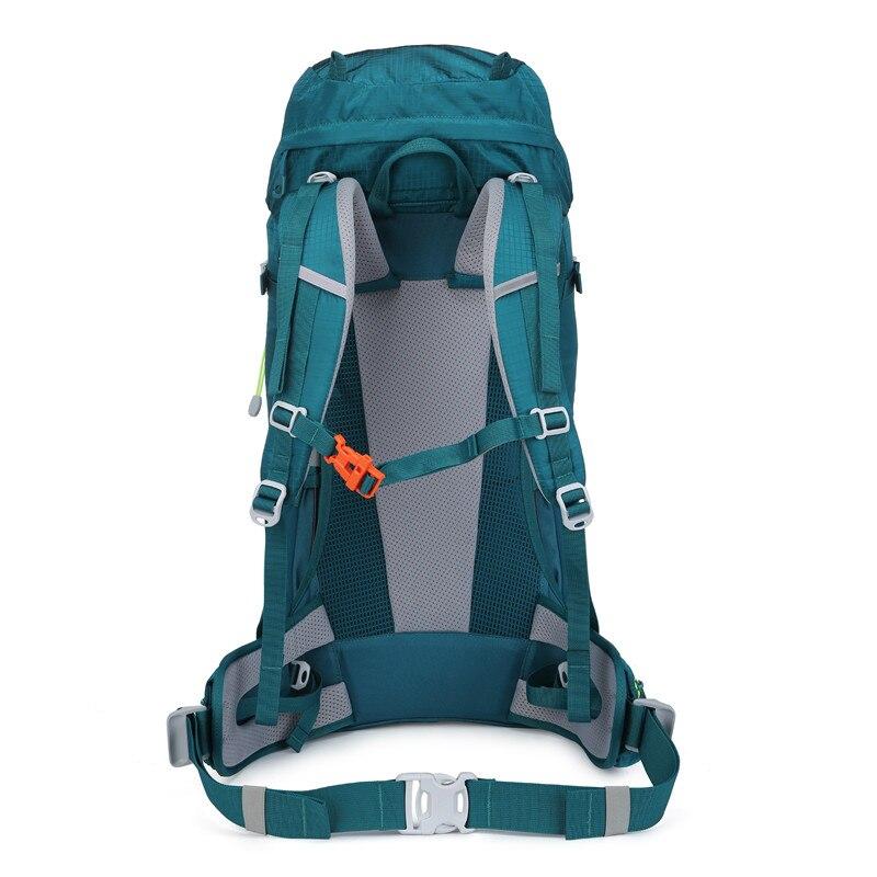 Image 4 - NEVO RHINO 50L Waterproof Mens Backpack Unisex travel pack bag  hiking Outdoor Mountaineering Climbing Camping backpack for  maleBackpacks