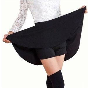 Image 2 - 2020 Tất Cả Đều Phù Hợp Tutu Học Váy Váy Ngắn Cho Nữ Lại An Toàn Mùa Hè Xếp Ly Chân Váy Ngắn Faldas Bầu Mini Hàn Quốc saia Gratis