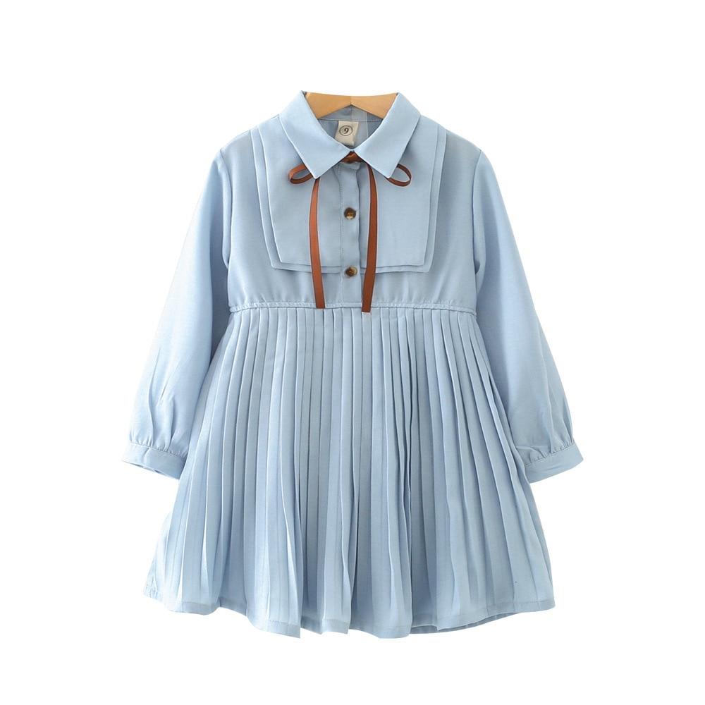 Meisjes taille lange mouwen chiffon hoge kwaliteit schattige borst - Kinderkleding - Foto 1