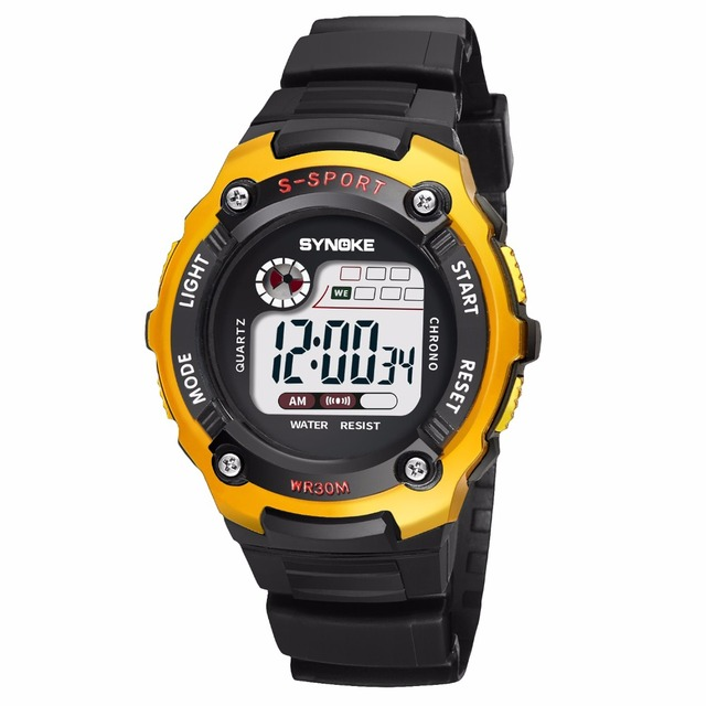 Fashion Cool Children Kids Boys Watches Digital LED Alarm Date Girls Sports Elec