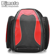 купить Bjmoto Motorcycle Scooter Sport bike Saddlebags Saddle  Bags Helmet Tool Bag Pouch bag дешево
