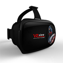 hongyu 3d virtual reality VR glasses folding mini vr Bluetooth vr head-mounted smart game glasses