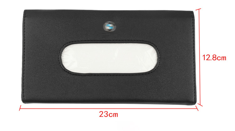 1pcs Top Quality Car Sun Visor Hanging Leather Tissue Boxes For Audi A1 A3 A4 A5 A6 A7 A8 Q3 Q5 Q7 RS3 RS5 RS6 RS7 S5 S6 S7 V8