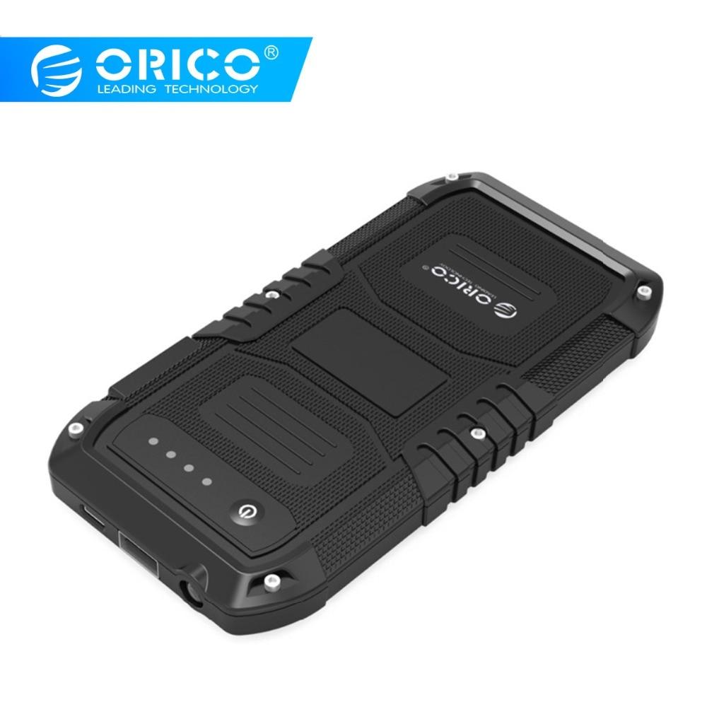 ORICO multi-fonction voiture chargeur de batterie externe d'urgence Mini Portable batterie externe Mobile 4000 mAh Booster démarrage Powerbank