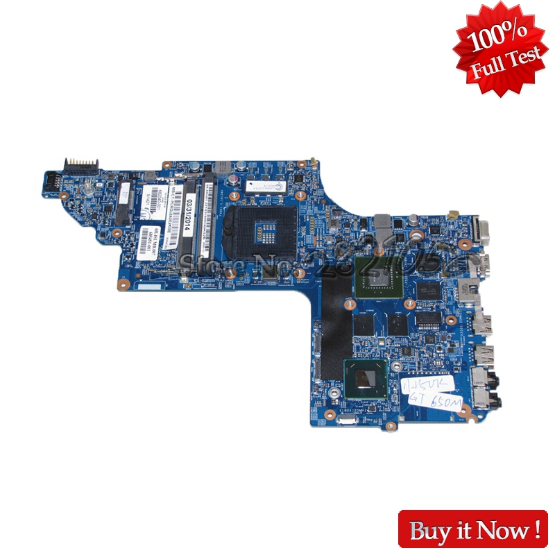 NOKOTION Laptop Motherboard For HP pavilion DV7 DV7T DV7-7000 Main Board 682040-501 682040-001 17 Inch GT650M 2GB Video card nokotion 682040 501 682040 001 for hp pavilion dv7 dv7t dv7 7000 laptop motherboard 17 inch hm77 ddr3 gt650m 2gb video card