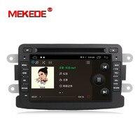 Groothandel prijs! Pure Android 7.1 GPS Navigator Radio auto dvd Voor Renault Duster Logan Sandero stereo Centrale Cassette Speler