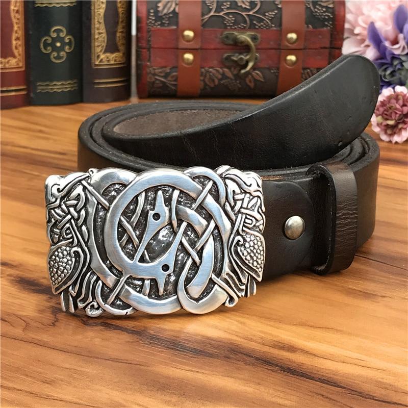 Metal Belt Buckle Luxury Men Belt Leather Genuine Ceinture Homme Leather Belt For Men Jeans Male