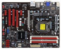 Used ,BIOSTAR TZ77A Original Motherboard Intel Z77 LGA 1155 DDR3 32G SATA3 USB3.0 ATX
