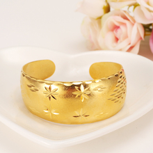 Gold Dubai india Africa Bangle for Women Bracelet party Jewelry Arab Accessories Gifts cuff bangle men bracelet weddingbridal jhplated one piece womens wedding bridal bangle bracelet dubai bangle jewelry africa arab gold color