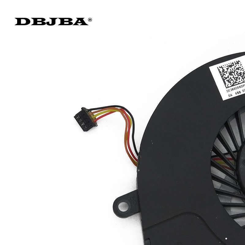 Nouveau ventilateur de refroidissement de processeur pour ordinateur portable pour HP ENVY4 ENVY6 6-1040ca ENVY4-1007TX 1008 T X 1024 T 4 BROCHES SPS-686580-001 Ventilateur