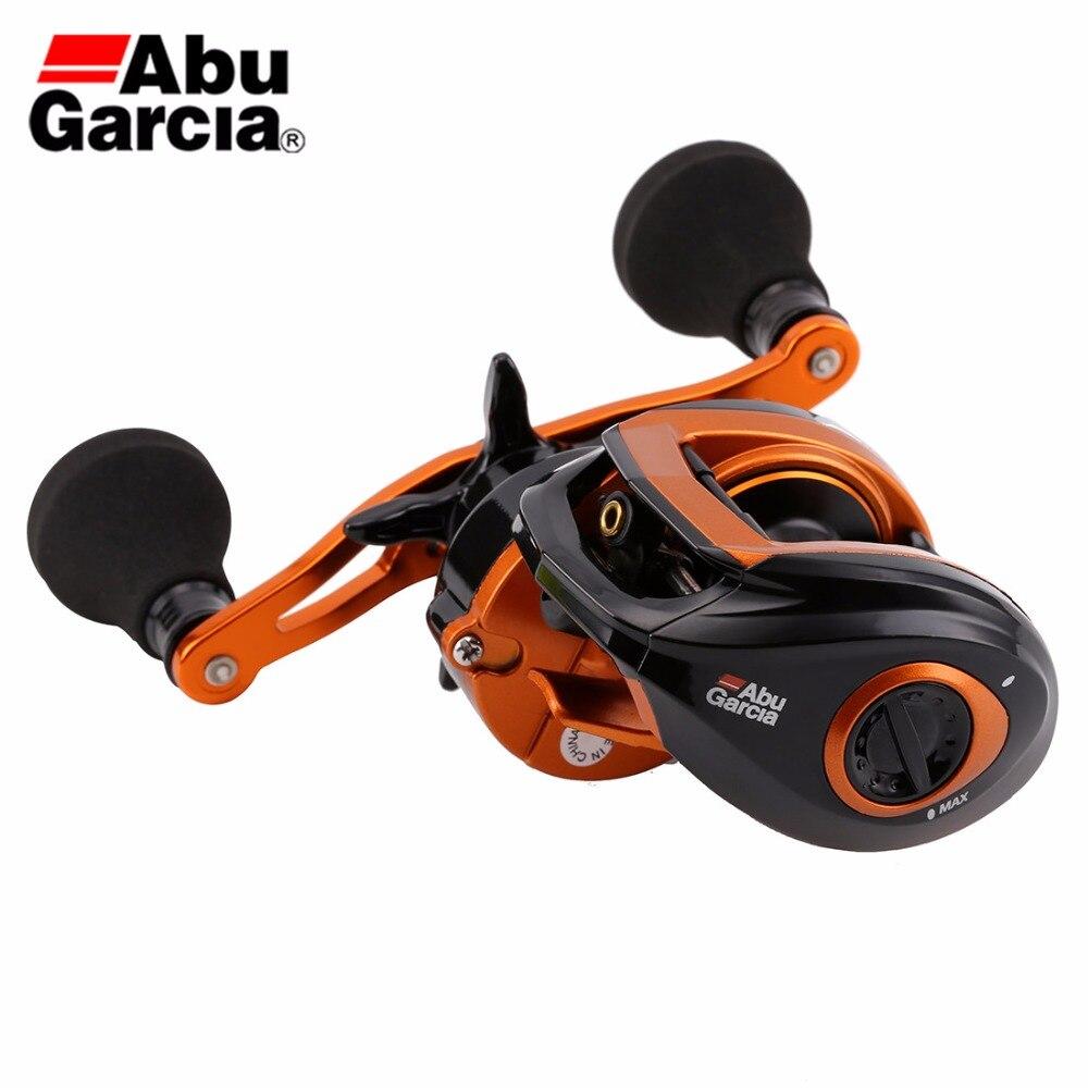Abu Garcia Brand Baitcasting Fishing Reel Orange Max OMAX3 Left Right Hand  4+1BB 7.1:1 Corrosion-resistant Gear Fishing Reel abu garcia каталог 2013