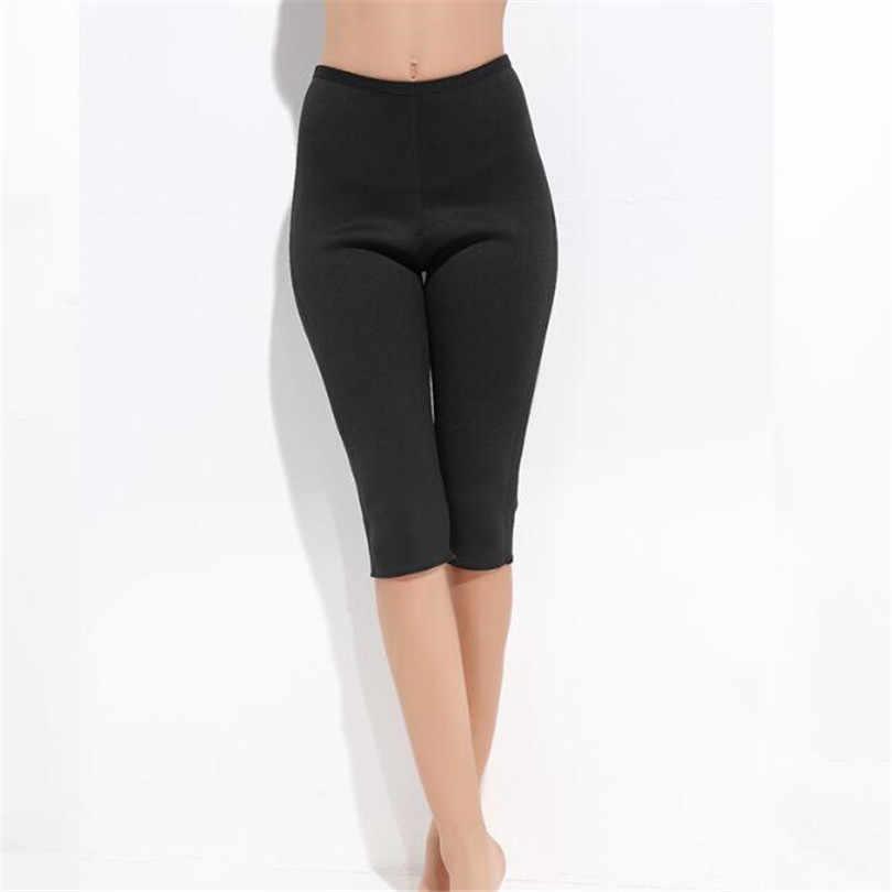 VIIANLES штаны для фитнеса женские горячие Формирователи стрейч супер контроль Трусики стрейч неопрен тонкий формирователь тела спортивные брюки
