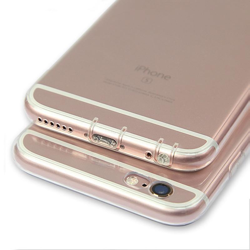 Untuk iPhone 5 5 S 6 6 S 6 DITAMBAH 7 S Doolike Transparan Ponsel - Aksesori dan suku cadang ponsel - Foto 6