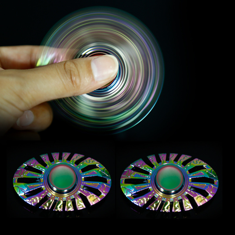 2017 New Style Fidget High Speed Hand Spinner zinc alloy stainless steel brass for Adults and