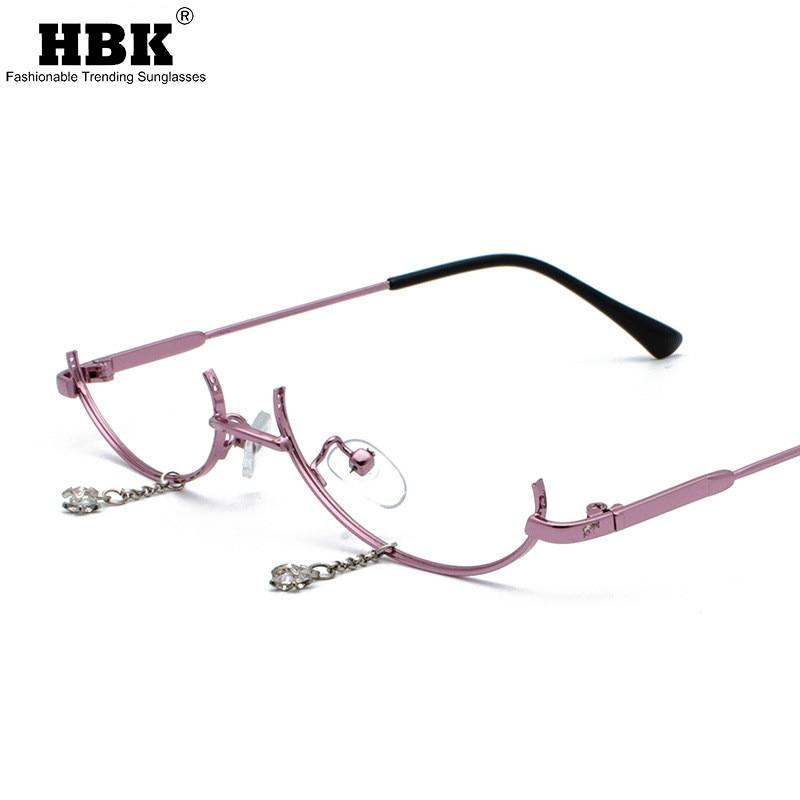 HBK 2019 Ultralight Pure Titanium Polarized Sunglasses Rimless