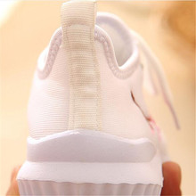 MHYONS 2017 New Sports Kids Breathable shoes Spring children Casual boys and girls Lace-up Fashion shoes Rubber bottom 1-8 Years