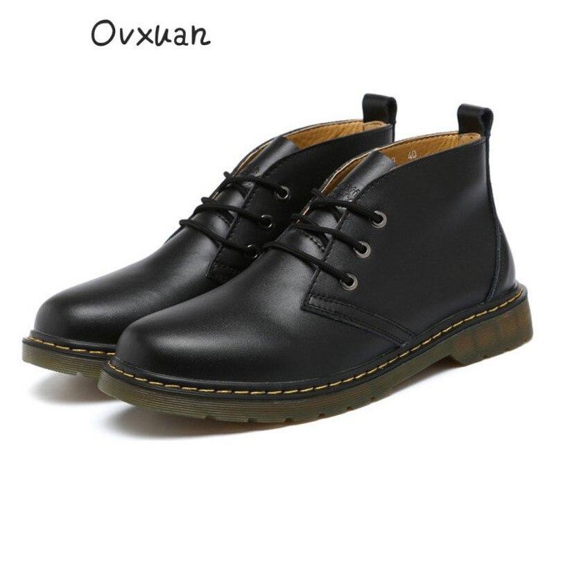 Masculinos Vendas Dos Trabalho 100 Boots Casuais Homens Mão Preto cinza Genuínos Fábrica Feitos À De Vintage Ankle marrom Moda Couro Do Direto vermelho Sapatos azul Ovxuan Da CqwPRRd