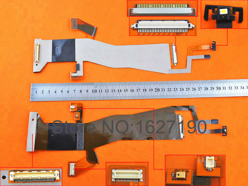 NEW Laptop LCD Cable For LENOVO ThinkPad T400 R400(For LCD,without camera connector,version 1) P/N 93P4593 Replacement Repair